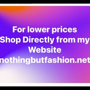 Shop my Website for savings on Boutique Items